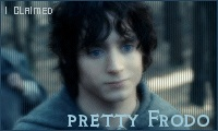 I Claimed - Pretty Frodo by FallenFrodo