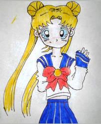 Serena Tsukino by xeneizeman