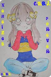 Boca Juniors girl by xeneizeman