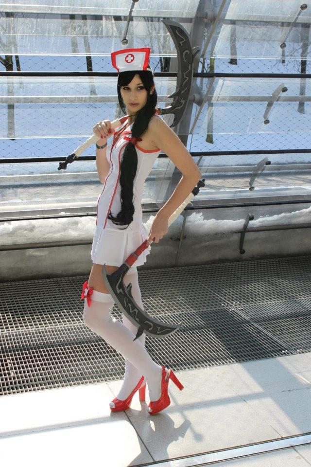 Akali Nurse Cosplay by TanitaOsaki on DeviantArt