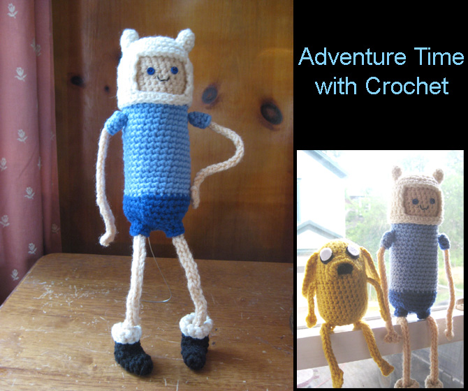 Amigurumi Beemo : Adventure Time with Crochet by hookrat on DeviantArt