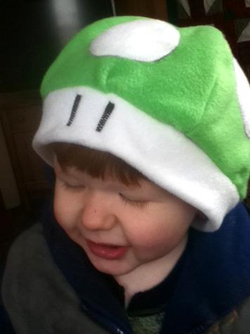 Mushroom Hat by hookrat
