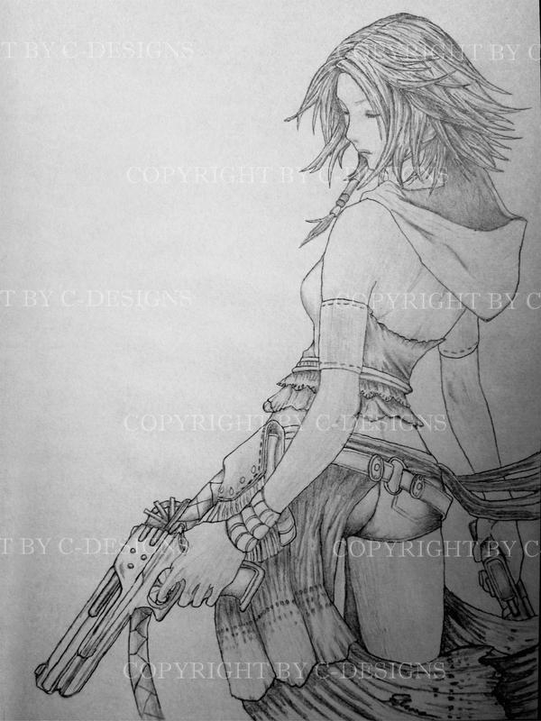 Yuna 2 - Final Fantasy X-2 by Drawer88