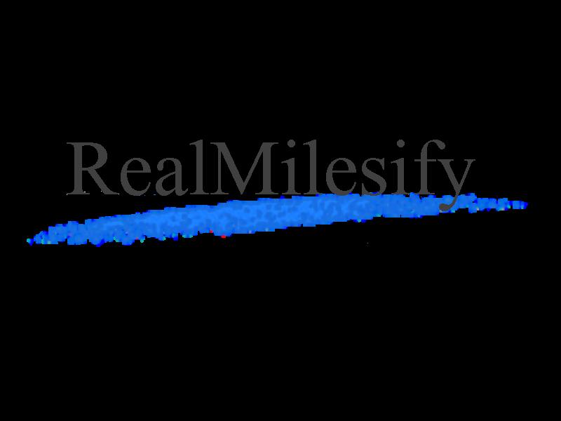 RealMilesify Logo (Blue Sky 2002 Logo Style) by RealMilesifyStudios