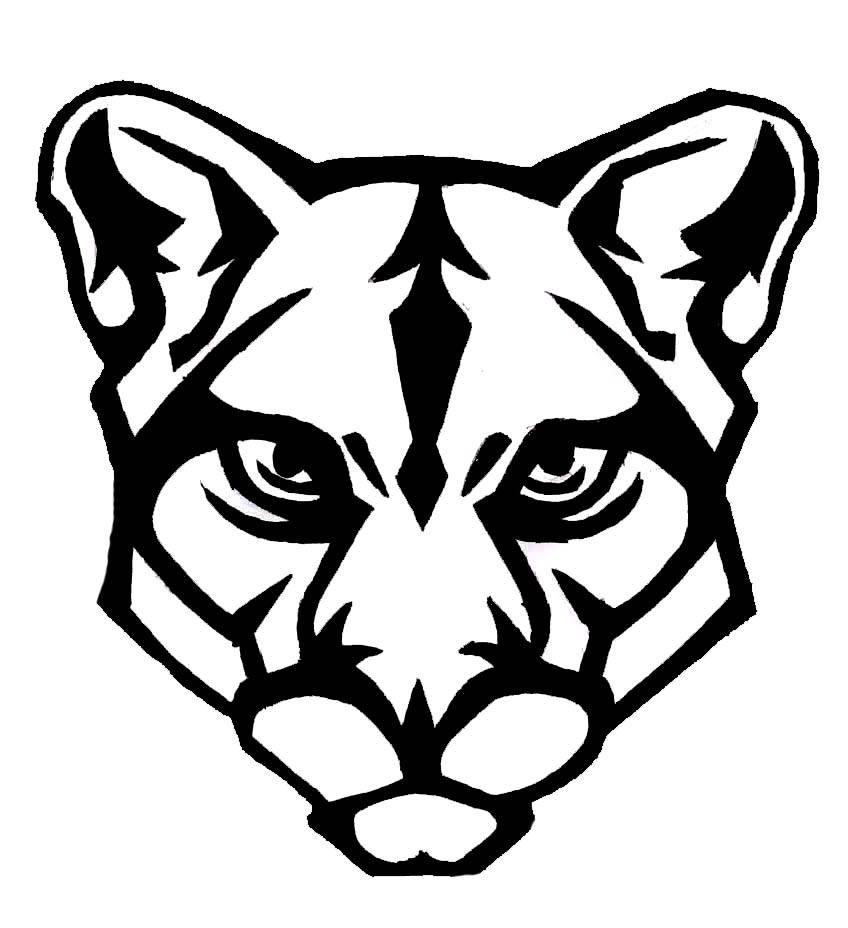 panther drawing outline - photo #22