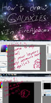 How to Draw Galaxies in FireAlpaca