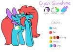 Cyan Sunshine REF