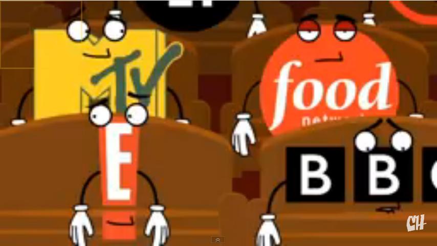 Cameo Series - BBC logo cameo by OffClaireBlue2001
