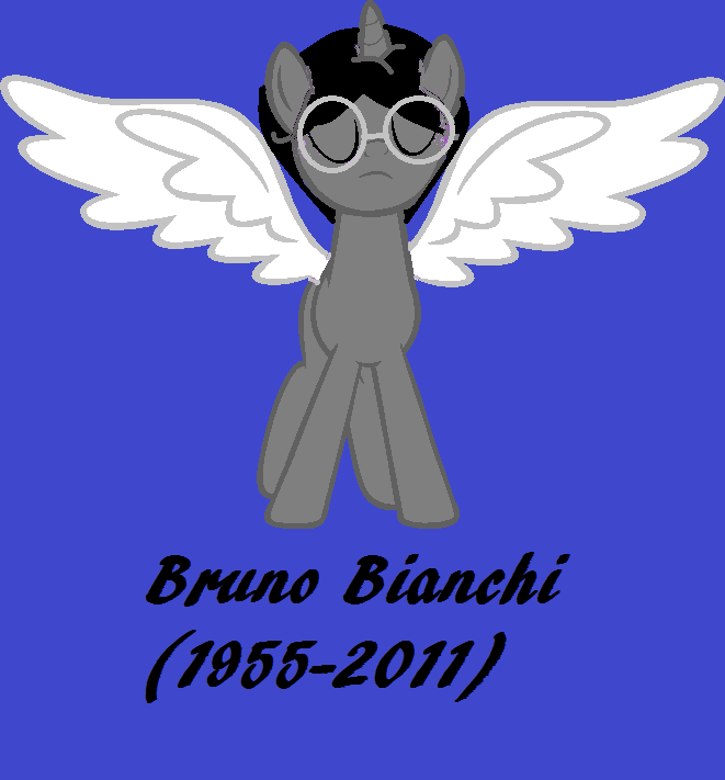 MLP Bruno Bianchi 1955 2011 by OffClaireBlue2001