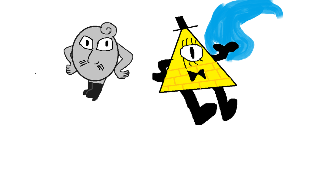 Khilward and BIll Cipher by OffClaireBlue2001