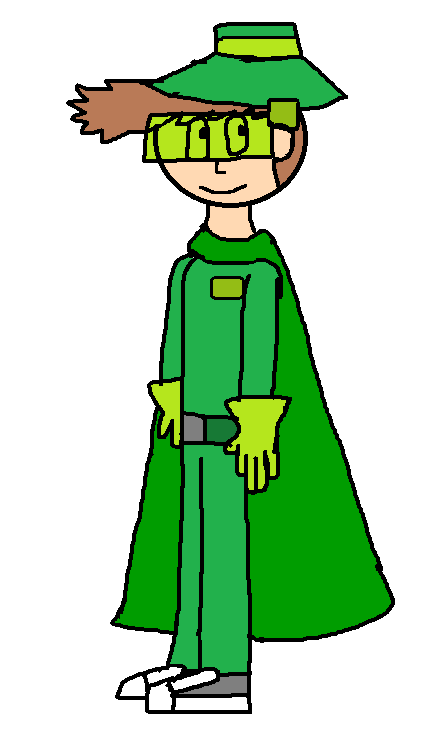 Green Wings Man 2016 by OffClaireBlue2001