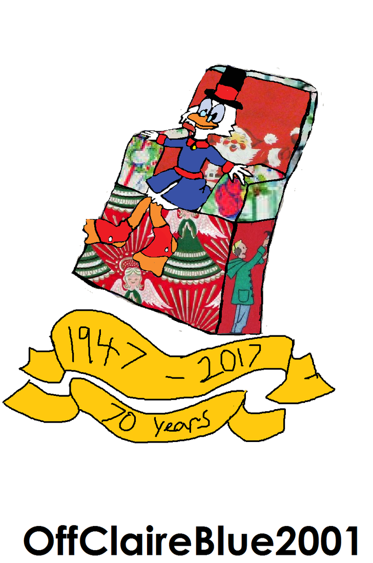 70 years of Scrooge McDuck by OffClaireBlue2001
