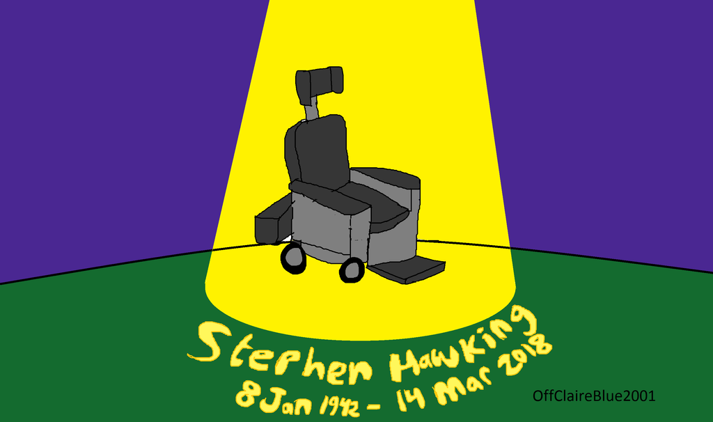 Tribute to Stephen Hawking by OffClaireBlue2001