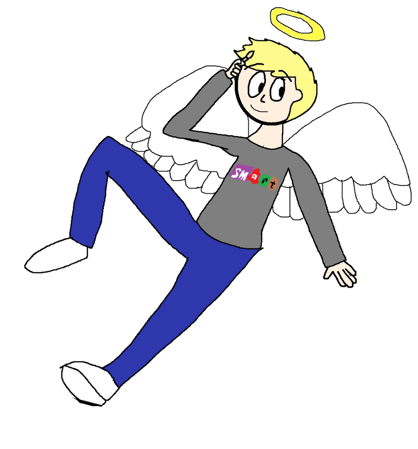 Mark Speight, the art angel by OffClaireBlue2001