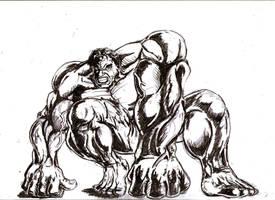 Hulk2 by MichaelLThomas