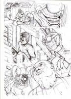 Scary Clowns Sketch by MichaelLThomas