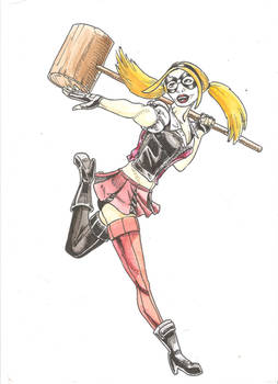 Harley Quinn - Ink and Colour