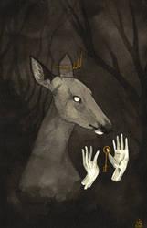 INKtober: Forest Queen
