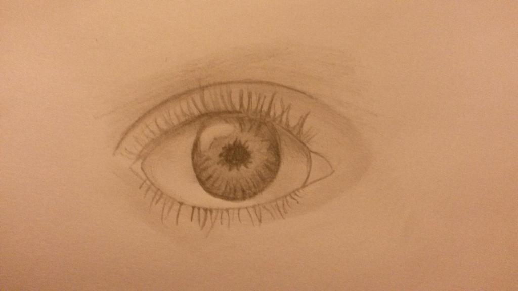 Drawing of an eye! by dantania-dan