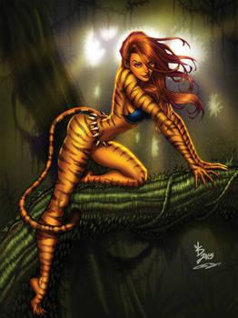 Tigra sexy Spidey's got