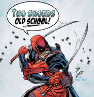 Deadpool colors by JSkipper by broken-nib