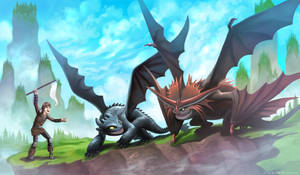 Lets race - How to train your Dragon