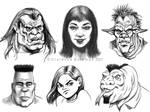 Some more face sketches_2