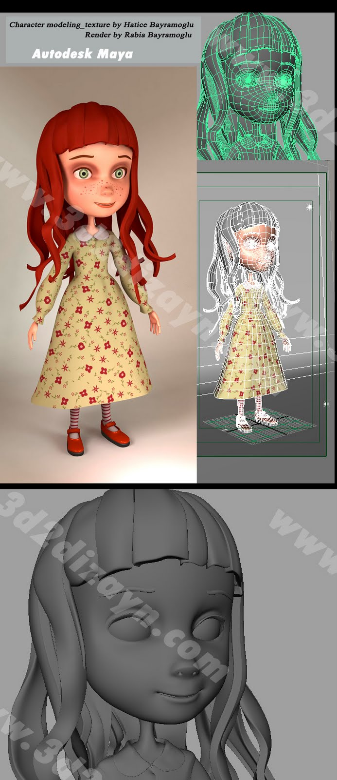 Character Design Tutorial In Maya : Images about d modeling topology reference on