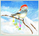 fantasiart Christmas Card by eydii