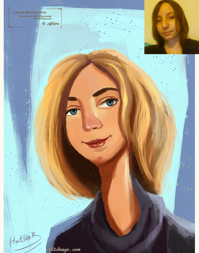cartoon-Character-portrait-commission series 4 by eydii