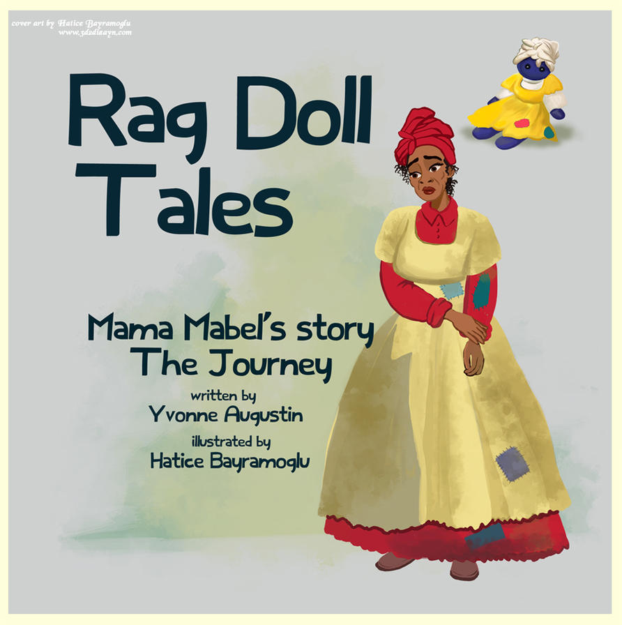 Rag Doll Tales book cover art design by eydii by eydii