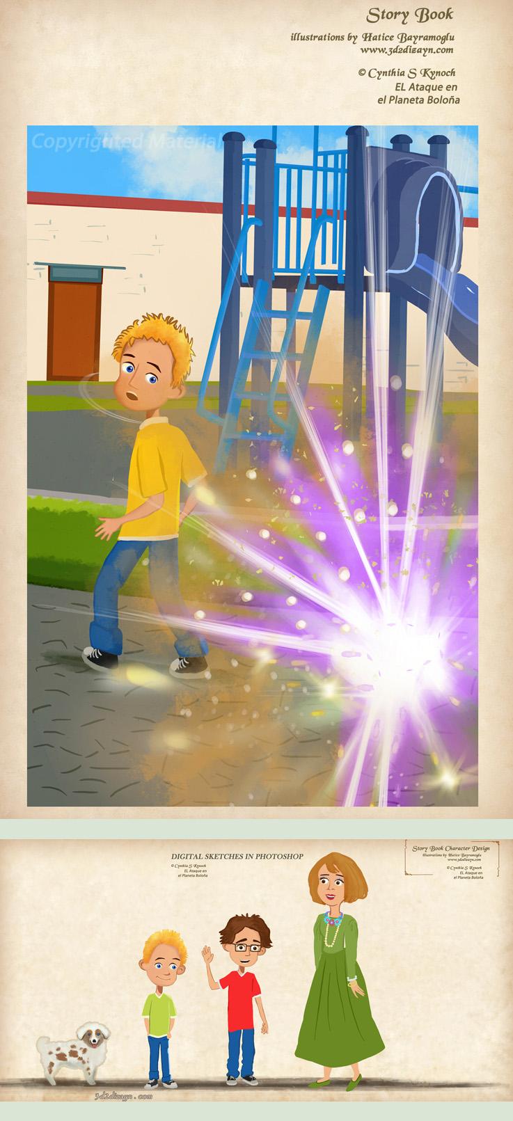 children's book illustrator by eydii
