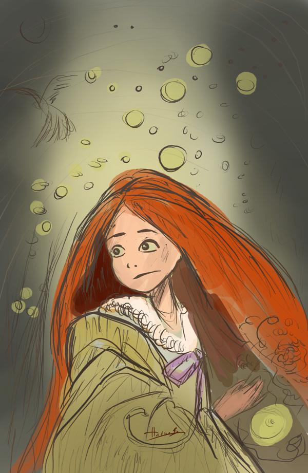 Paint A Fantasy Scene 05 by eydii