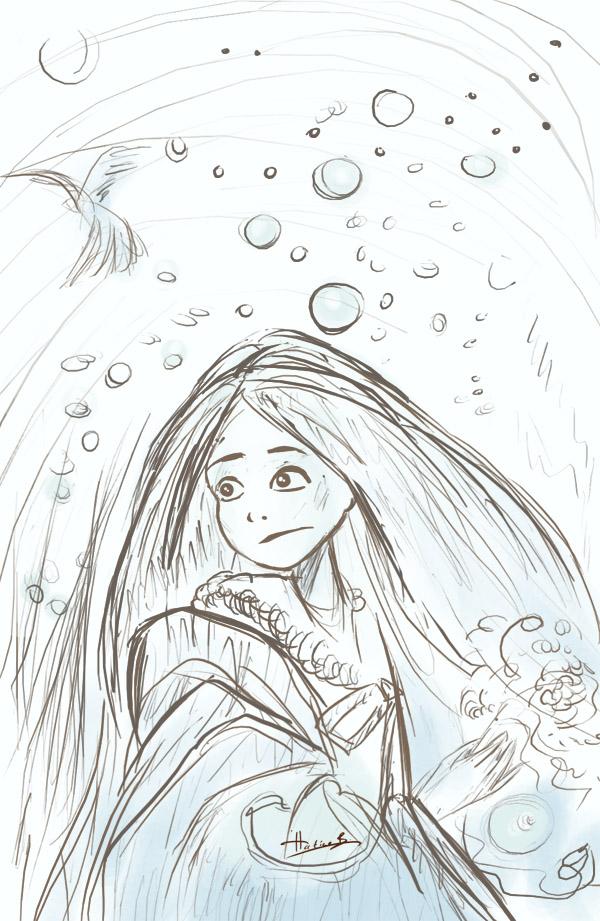 Paint A Fantasy Scene 02 by eydii