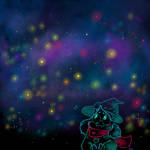 A Fluffy Boy Among the Stars