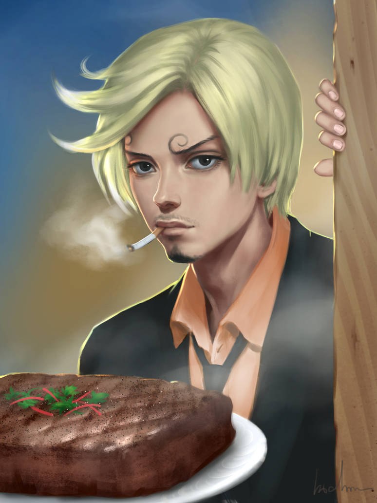 Sanji One Piece Fan Art By Apegrixs On Deviantart