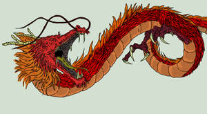 Red Dragon - Oriental Style
