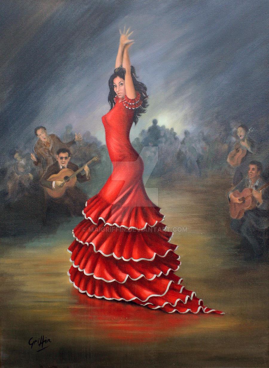 flamenco dancer by maigriffin on deviantart