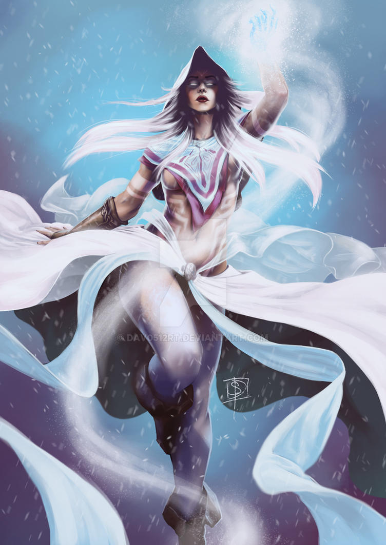 She Who Bringeth the Frost and Snow by dav0512RT