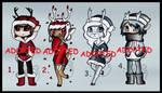 Reindeer Humanoid/Anthro Adopts (CLOSED)
