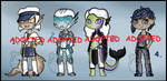 Aquatic/Ocean Adopts (CLOSED) by Adopt-From-Frog