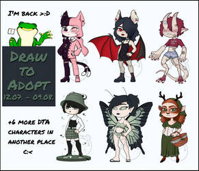 DTA - deviantART (Part 1) [OPEN] by Adopt-From-Frog