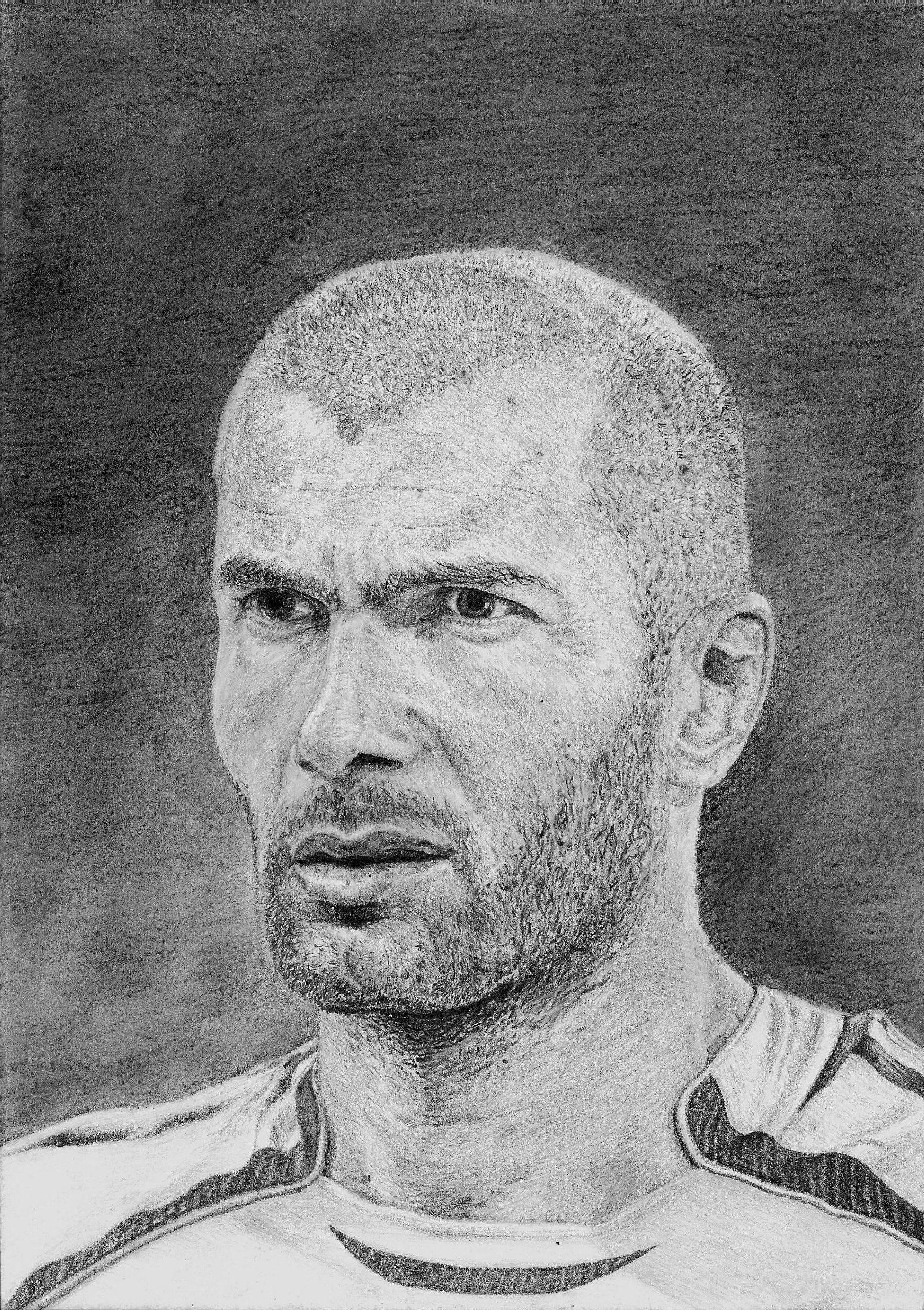 Zinedine Zidane by Alexander-Moskalenko