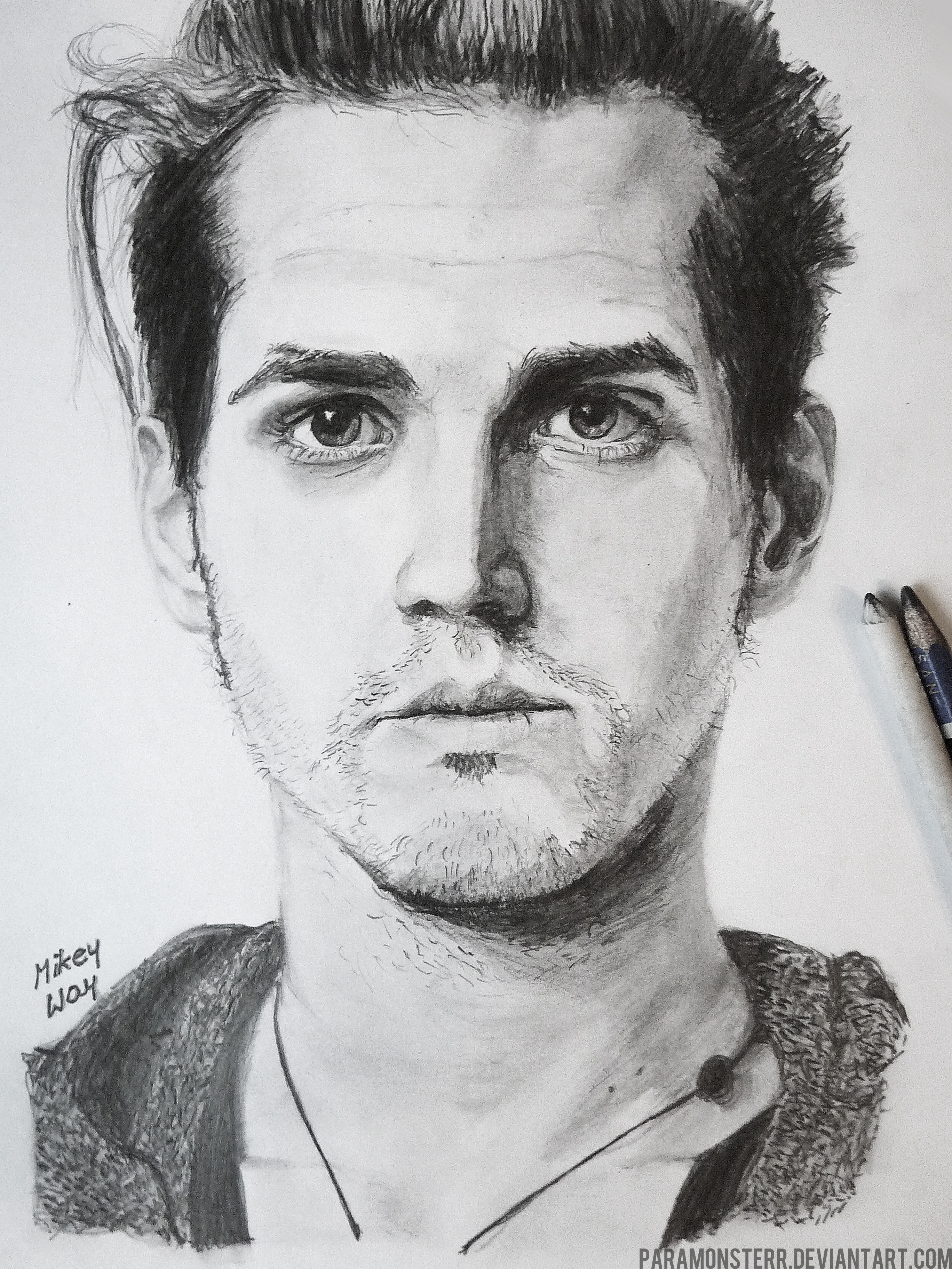 Mikey way my chemical romance by paramonsterr