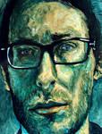 Self portrait 'The Night'