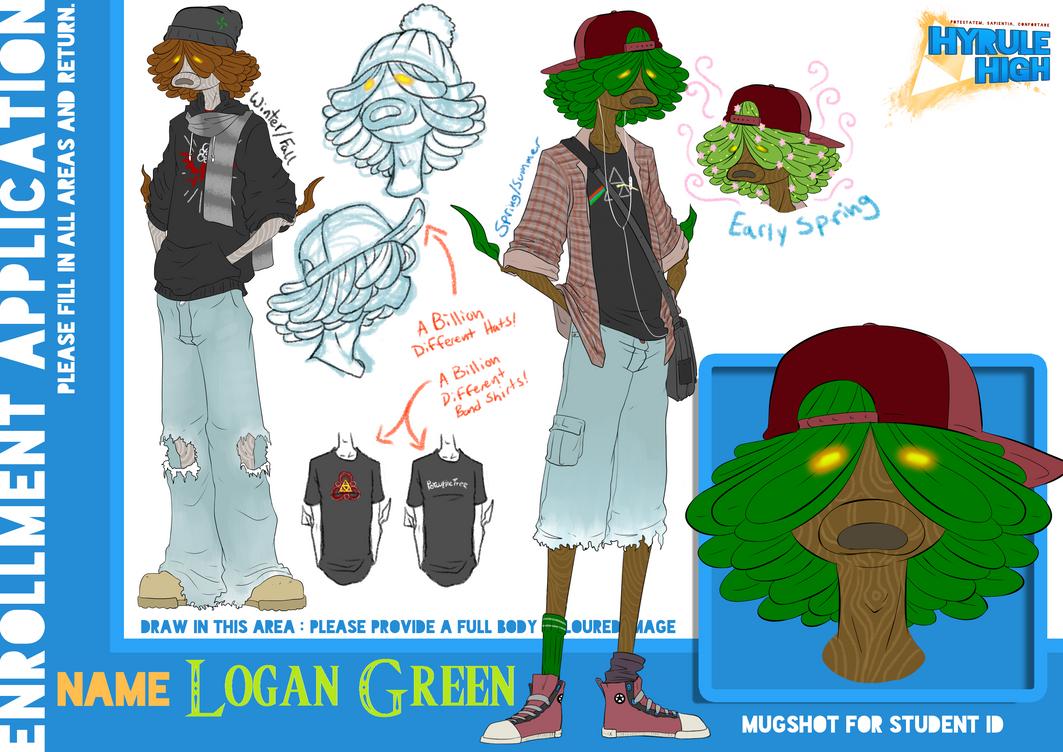 Hyrule High: Logan Green by Death2Moogles