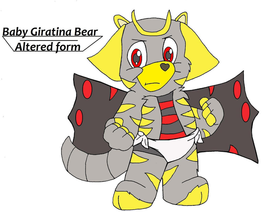 Baby Giratina Bear-Altered form by Gloverboy23 on DeviantArt