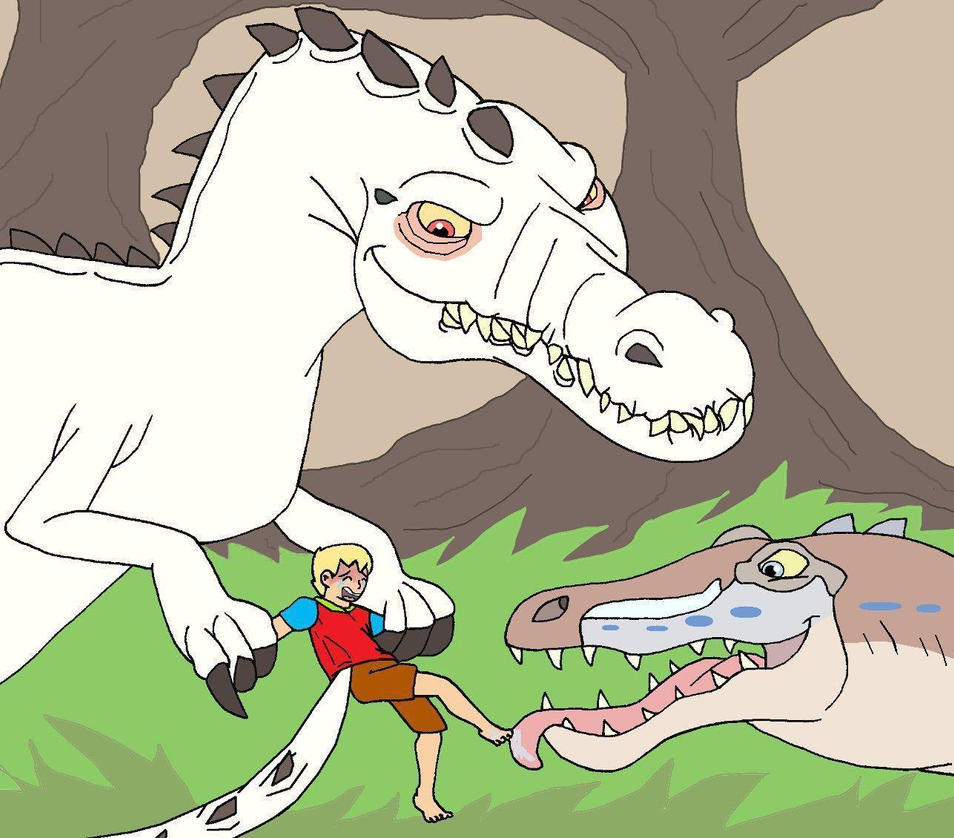 A Toy For The Baryonyx King And Queen By Gloverboy23 On