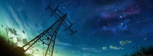 transmission tower by MrFloki