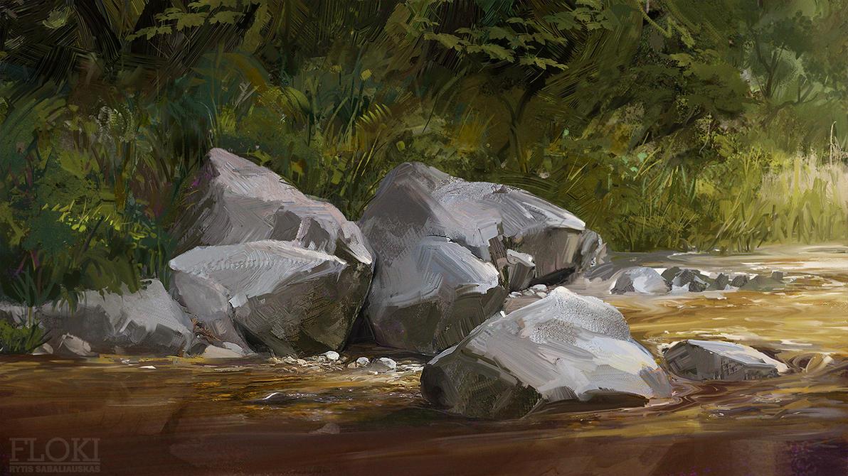 Rocks by MrFloki